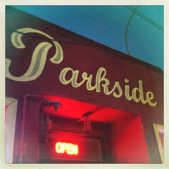 Photo taken at Thee Parkside by Anna-Karin B. on 3/24/2013