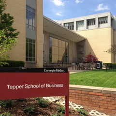 Photo taken at Tepper School of Business by DanielleJMe on 5/16/2013