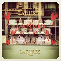 Photo taken at Ladurée by Phoebus I. on 10/14/2012