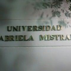 Photo taken at Universidad Gabriela Mistral by Milton G. on 4/22/2014