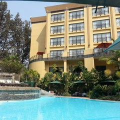 Photo taken at Kigali Serena Hotel by werner g. on 7/12/2013