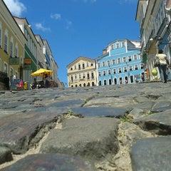 Photo taken at Largo do Pelourinho by Alan B. on 3/15/2013