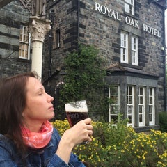 Photo taken at Royal Oak Betws y Coed by Maxim K. on 5/6/2014