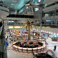 Photo taken at Dubai International Airport (DXB) | مطار دبي الدولي by ZeMario -. on 11/1/2013
