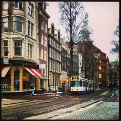 Photo taken at Amsterdam by Fernanda S. on 6/17/2013