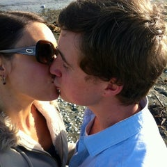 Photo taken at Petone Beach by Elishevah M. on 9/17/2012
