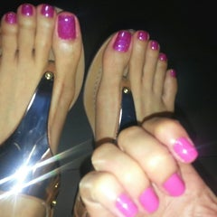 Photo taken at Glam Nails by Jun on 7/31/2014