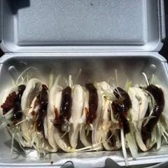 Photo taken at Peking Duck Sandwich Stall by Joe P. on 5/26/2013