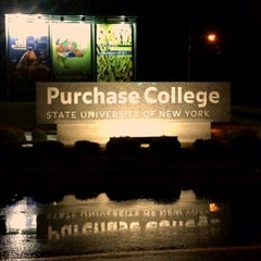 Photo taken at Purchase College by Jeffrey P. on 4/13/2013