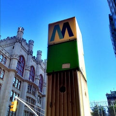 Photo taken at MTA Subway - 68th St/Hunter College (6) by Jeffrey P. on 9/21/2012