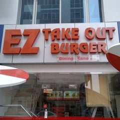 Photo taken at EZ Takeout Burger by Justin R. on 2/19/2013