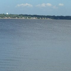 Photo taken at Gaspee point by Carol S. on 7/4/2013