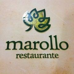 Photo taken at Marollo Restaurante by Lissandra O. on 4/17/2013
