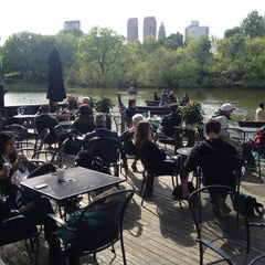 Photo taken at The Loeb Boathouse in Central Park by Andrew K. on 5/14/2013