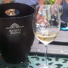 Photo taken at Rickety Bridge Winery by William T. on 11/4/2012
