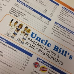 Photo taken at Uncle Bill's Pancake House by Eric J. on 8/16/2014