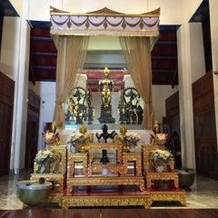 Photo taken at เทวสถาน (โบสถ์พราหมณ์) Dhevasathan (Brahmin Shrines) by Patchara K. on 6/2/2015