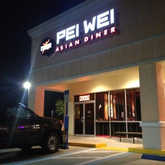 Photo taken at Pei Wei by Kiran K. on 2/9/2013