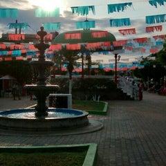 Photo taken at Plaza Principal San Juan De Abajo by Perura M. on 5/24/2015