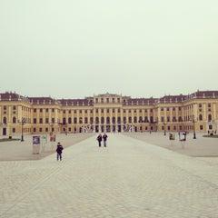 Photo taken at Schloss Schönbrunn by Alex on 4/20/2013