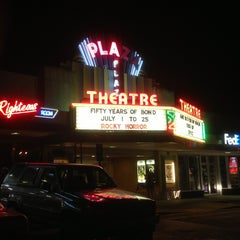 Photo taken at Plaza Theatre by Travis F. on 6/1/2013