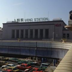 Photo taken at JR 上野駅 (Ueno Sta.) by Takayuki F. on 10/7/2012