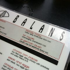 Photo taken at Balans Restaurant & Bar by Rob F. on 12/8/2012