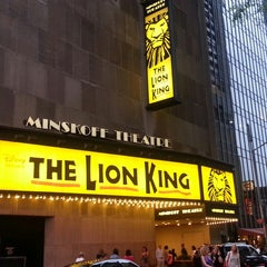 Photo taken at Minskoff Theatre by Korinne c. on 6/27/2013