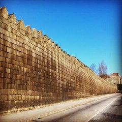 Photo taken at Muralhas da Cidade de Guimarães by Carolina K. on 2/8/2013