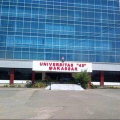 """Photo taken at Universitas """"45"""" Makassar by Rini on 8/4/2013"""