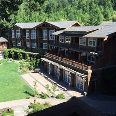 Photo taken at Alderbrook Resort & Spa by Andrea T. on 7/1/2015
