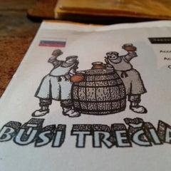 Photo taken at Būsi Trečias by Julie T. on 1/19/2013