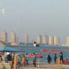 Photo taken at Al Yazwa Public Beach by Ahmed B. on 6/27/2014