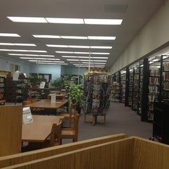 Photo taken at Middlesex Public Library by Sam F. on 2/28/2013