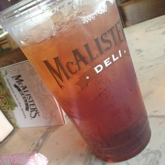 Photo taken at McAlister's Deli by Blair H. on 7/25/2013