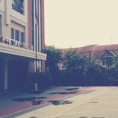 Photo taken at SMA Katolik Santo Kristoforus 2 by Septian H. on 7/19/2013