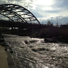 Photo taken at Confluence Park by Steve S. on 5/12/2013