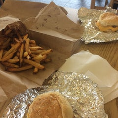 Photo taken at Five Guys by Theresa C. on 9/6/2015