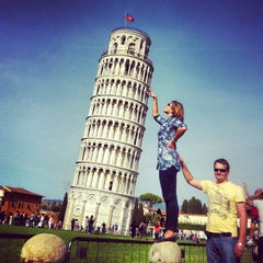 Photo taken at Torre di Pisa by Наталья Б. on 5/4/2013