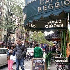 Photo taken at Caffe Reggio by Yvonne W. on 10/25/2013