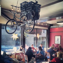 Photo taken at The Green Sage Coffeehouse & Cafe by Catie L. on 10/19/2012