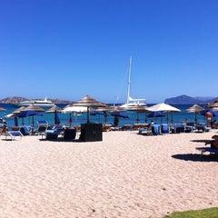 Photo taken at Hotel Romazzino, Costa Smeralda by Alana F. on 8/3/2013
