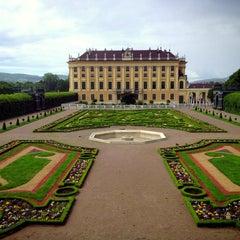 Photo taken at Schloss Schönbrunn by Abdullah A. on 5/20/2013