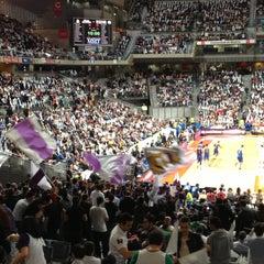 Photo taken at Barclaycard Center - Palacio de Deportes de la Comunidad de Madrid by HelenwithH on 4/12/2013