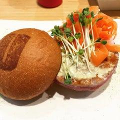 Photo taken at Umami Burger by Joy on 4/25/2015