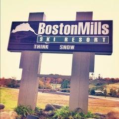 Photo taken at Boston Mills Ski Resort by Boston M. on 10/17/2012