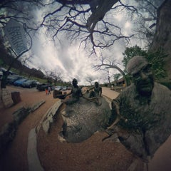 Photo taken at Barton Springs Playground by Whiskerhead L. on 3/18/2016