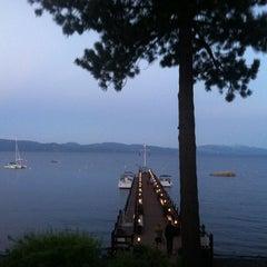 Photo taken at Gar Woods Grill & Pier by Sam G. on 7/29/2013