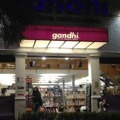 Photo taken at Libreria Gandhi by Andres N. on 3/20/2013