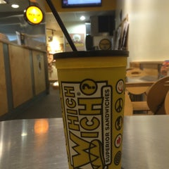 Photo taken at Which Wich? Superior Sandwiches by Aziz A. on 2/17/2015